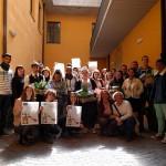 Le groupe EASY au lycée hôtelier Alberghiero de Cavaglia
