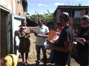 Interview d'une exploitante productrice de lait au nord d'Antsirabe