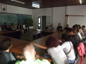 Réunion professionnelle avec les acteurs du développement agricole: les services de la Région