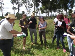 Visite de parcelles d'expérimentation agronomiques du programme DP SPAD pour développer l'agro écologie et l'intensification des systèmes de production