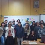 En Bulgarie : L'équipe bulgare du projet Erasmus+ EASY avec la délégation réunionnaise