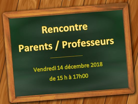 Rencontre parents prof